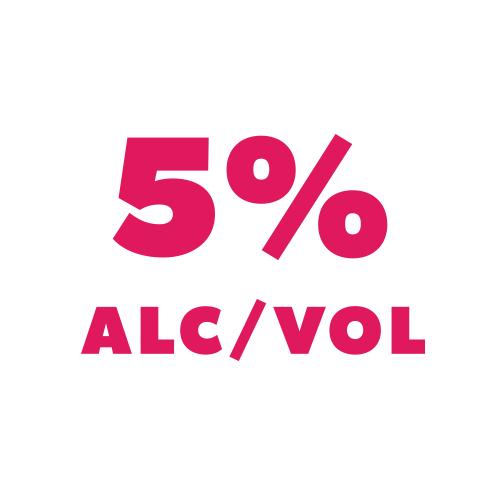 5% Alc/Vol Hard Seltzer