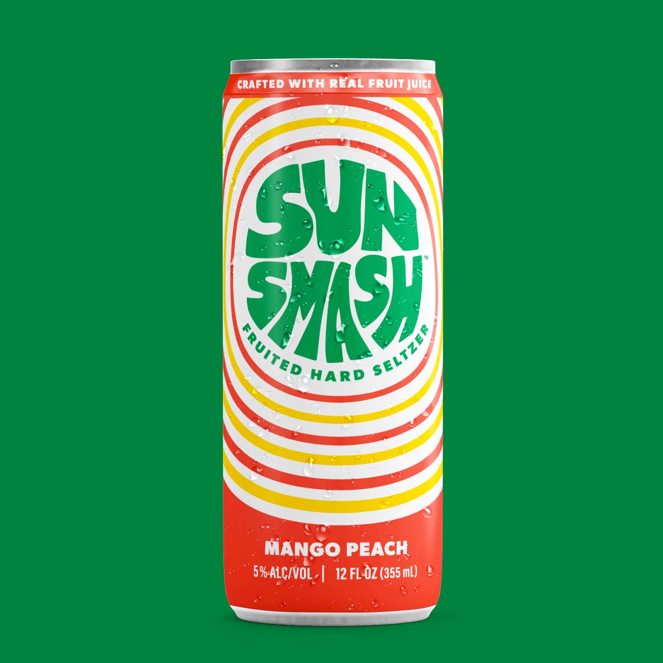 SunSmash Mango Peach Hard Seltzer