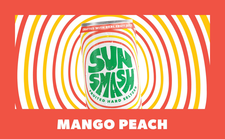 Mango Peach Hard Seltzer