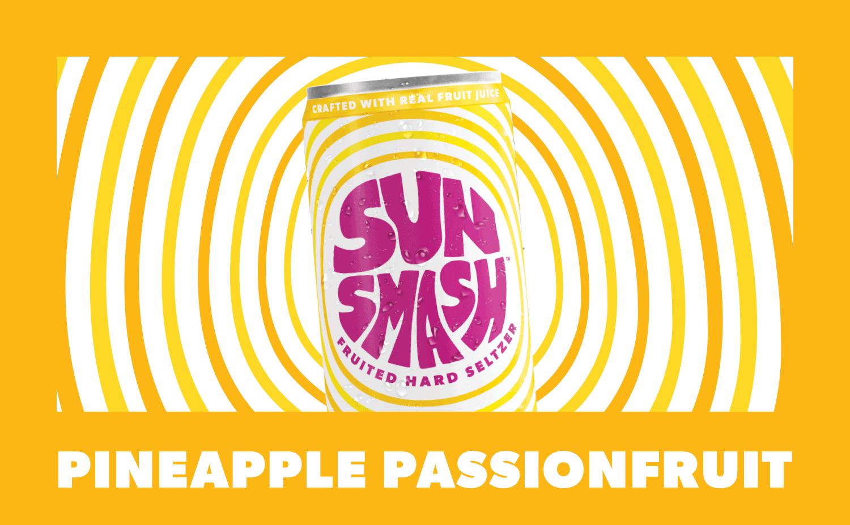Pineapple Passionfruit Hard Seltzer
